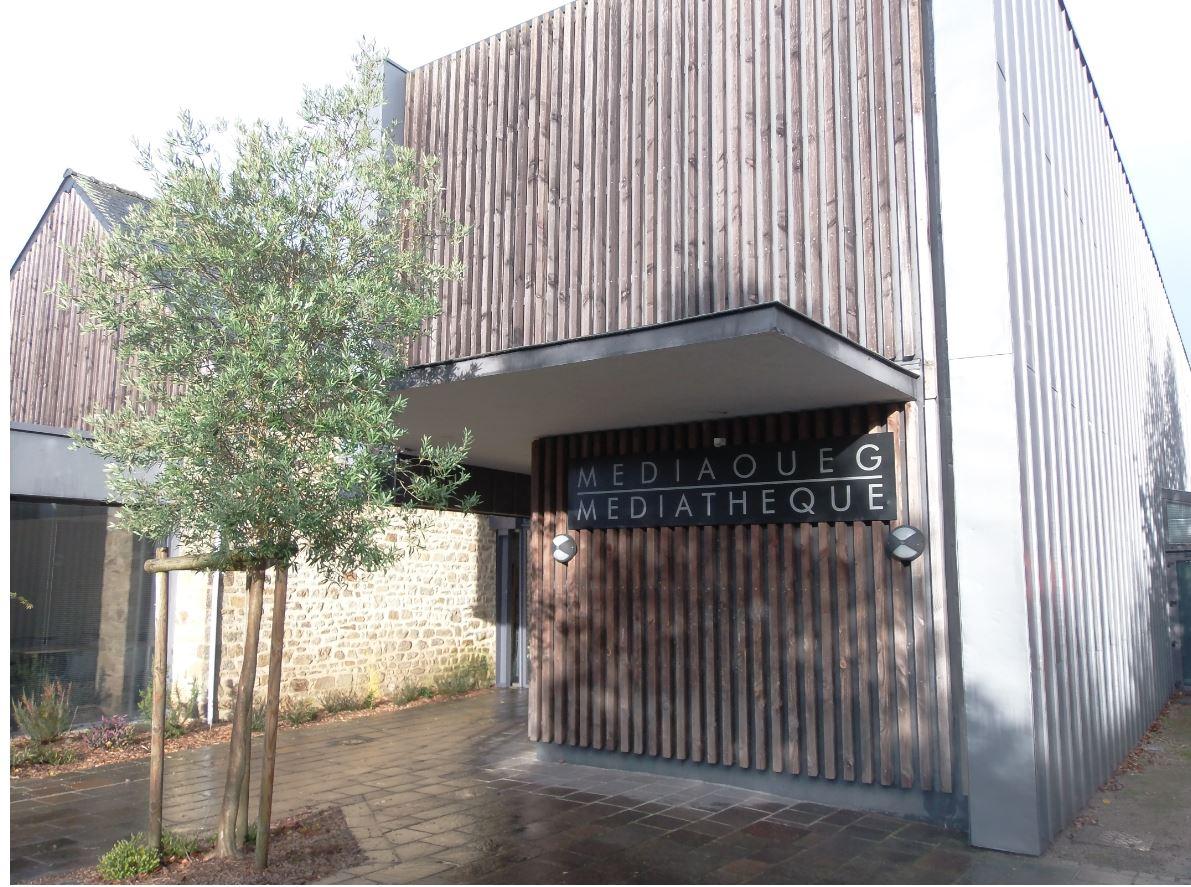 médiathèque de Plecop
