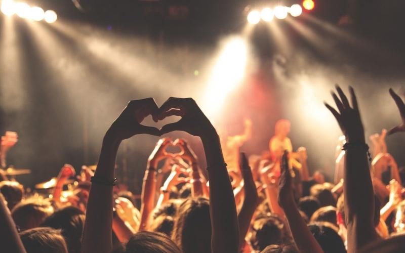 Concert musique public