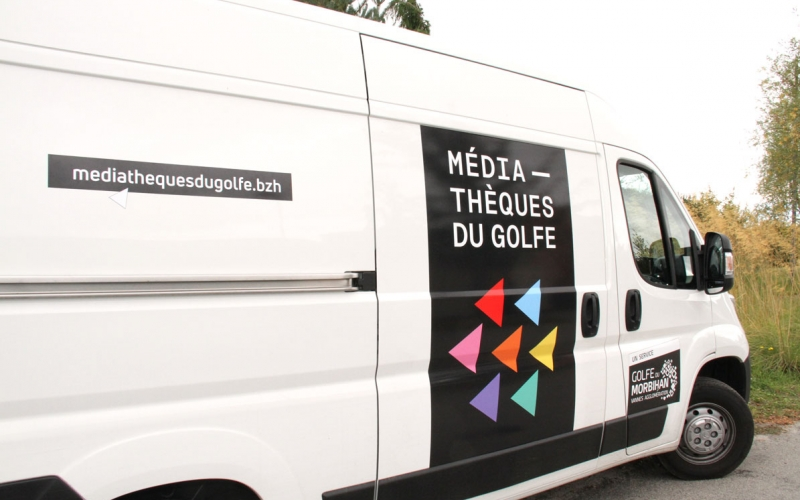 navette médiathèques du golfe