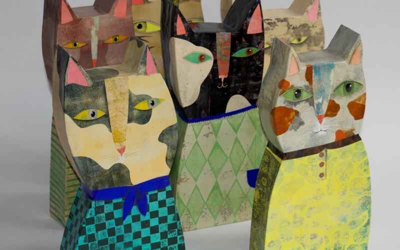 Exposition de chats de Vanessa Hié