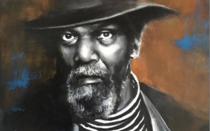 Portrait d'un musicien de jazz