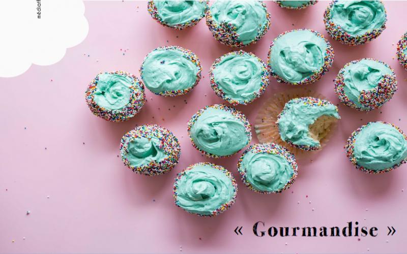 Cupcakes aux tons pastels