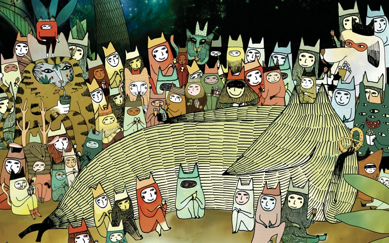 Affiche cinéma d'animation